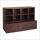 Babyletto 4-Piece Storage Cubbies and Drawer in Espresso