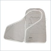 Babyletto Snuggle Wrap in Taupe Broad Stripes