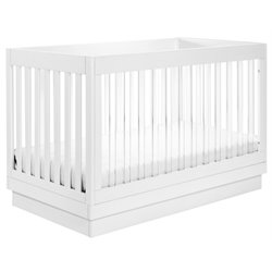Babyletto Harlow 3-in-1 Convertible Crib in White