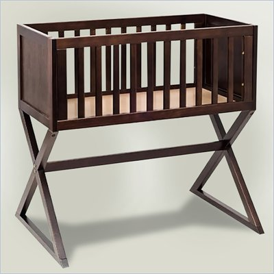 Babyletto Bowery Bassinet in Espresso with Pad