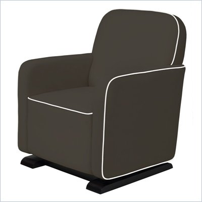 Babyletto Kyoto Glider in Slate with Ecru