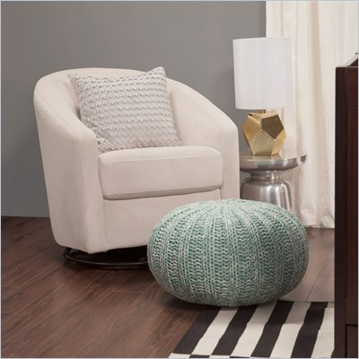 Babyletto Madison Swivel Glider in Ecru