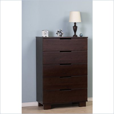 Babyletto Modo 5 Drawer Chest in Espresso Finish