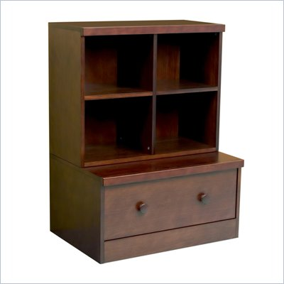 Babyletto 2-Piece Storage Cubbies and Drawer in Espresso