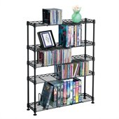 Atlantic Inc Multimedia Storage Rack (5 shelves)