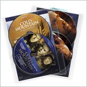 Atlantic Inc Movie Sleeves For CD DVD or Blu-Ray 25 Pack In Clear