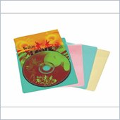 Atlantic Inc 20 Colored Blue Red Yellow Green Music Sleeves in Five Colors