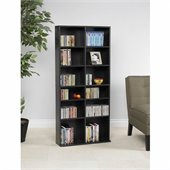 Atlantic Inc Oskar Media Cabinet 464 CD or 228 DVD in Espresso