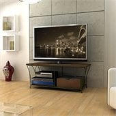 Atlantic Inc Nuvo 2-Tier 50 Inches TV Stand in Mocha