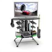 Atlantic Inc Centipede TV Stand with Video Game Storage