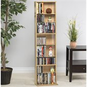 Atlantic Inc Summit Media Storage Cabinet in Maple