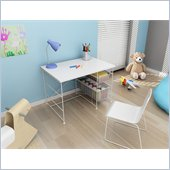 Atlantic Inc Youth Activity Desk In White