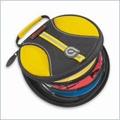 Atlantic Inc Halogen Yellow 24-CD or DVD Disc Wallet
