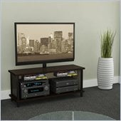 Atlantic Inc Midtown 2 in 1 TV Stand In Espresso