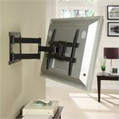 Atlantic Inc Large Articulating TV Mount in Matte Black