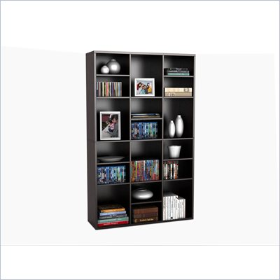 Atlantic Inc Versa 18 Wall Unit in Espresso