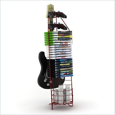 Atlantic Inc Video Game Tower In Red