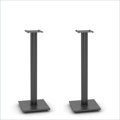 Atlantic Inc. Adjustable Bookshelf Speaker Stand in Black