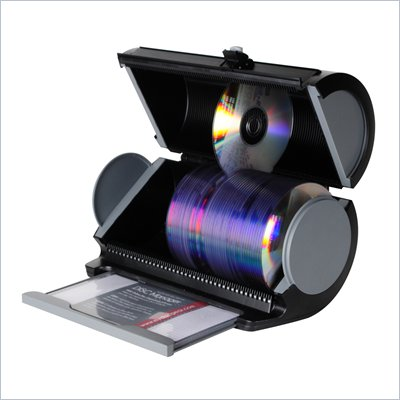 Atlantic Inc Disc Manager 80 Disc Storage in Black