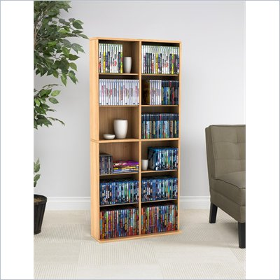 Atlantic Inc Oskar Media Cabinet in Maple