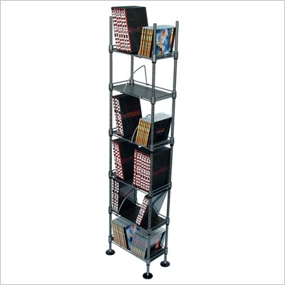 Atlantic Inc Adjustable CD DVD Multimedia Shelving