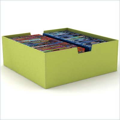 Atlantic Inc Large Media Bin in Wild Lime