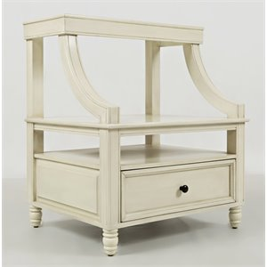 Jofran Avignon Youth 1 Drawer Nightstand in Ivory