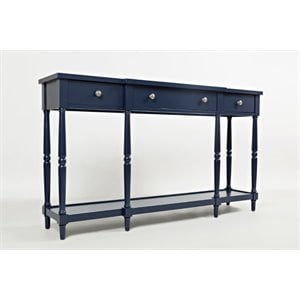 Jofran Stately Home Console Table in Navy