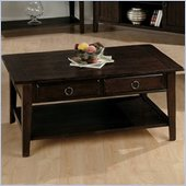Jofran 081 Series Rectangular Wood Cocktail Table in Heirloom Oak