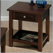 Jofran 251 Series Wood End Table in Milton Cherry