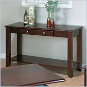 Jofran 280 Series Wood Sofa Table in Espresso