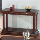 Jofran 299 Series Miniature Wood Sofa Table in Regal Cherry