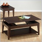 Jofran 401 Series Rectangular Wood Lift-Top CoffeeTable in Albion Oak