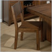 Jofran Cranmore Wood Side Chair in Braeburn Rough Hewn Cherry Finish (Set of 2)