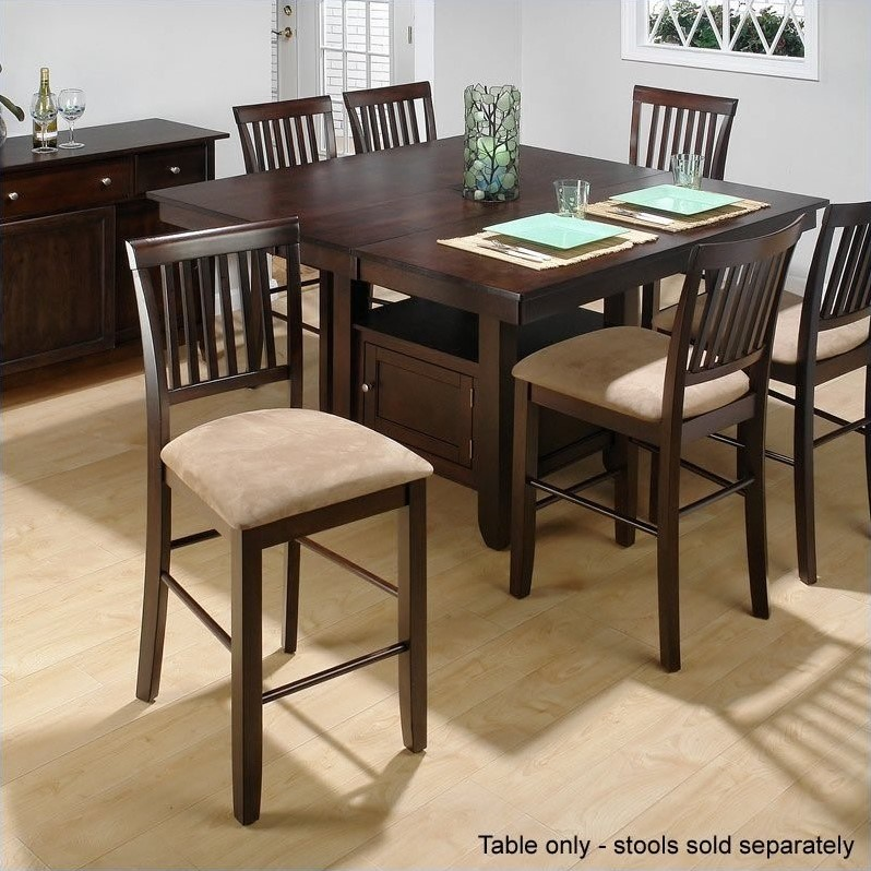 ... for Jofran Counter Height Dining Table With Butterfly Leaf In Cherry