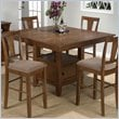 ADD TO YOUR SET: Jofran Counter Height Table Top with Butterfly Leaf in Saddle Brown Oak Finish