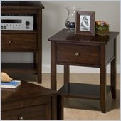 Jofran 354 Series End Table in Newport Cherry