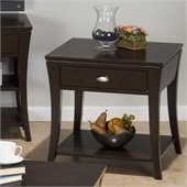 Jofran 629 Series End Table in Manhattan Espresso