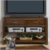 Jofran Rustic Loft TV Stand with 2 Drawers and 2 Shelves