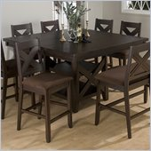 Jofran 453 Series Counter Height Dining Table in Espresso