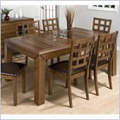 Jofran 737 Series Rectangular Casual Dining Table in Walnut Finish