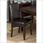Jofran 888 Series Bonded Leather Parson Chair (Set of 2)