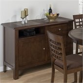 Jofran 976 Series Server Sideboard in Caleb Brown Finish