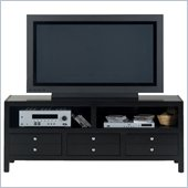 Jofran 041 Series TV Stand in Alto Black Cherry Finish
