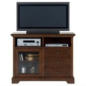 Jofran 042 Series TV Stand in Eureka Cherry Finish