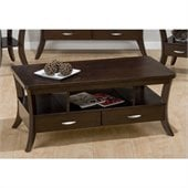 Jofran 328 Series Cocktail Table in Joes Espresso Finish