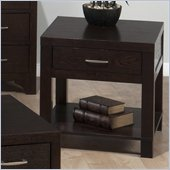 Jofran Vienna End Table in Espresso