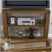 Jofran Ernie Sofa Table/TV Stand with Wood Top in Elm
