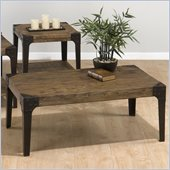 Jofran Timber Rectangle Coffee Table in Elm