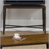 Jofran Glenna Media Unit in Elm and Black